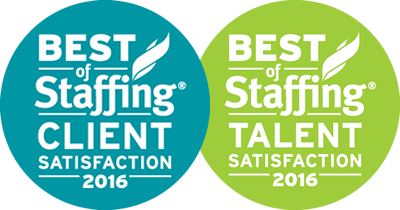 Best of Staffing Client / Talent Satisfaction 2016