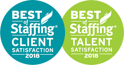 Best of Staffing Client / Talent Satisfaction 2018