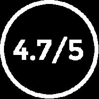 4.7/5 Glassdoor Rating