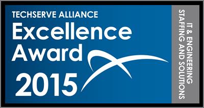 TechServe Alliance Excellence Award 2015