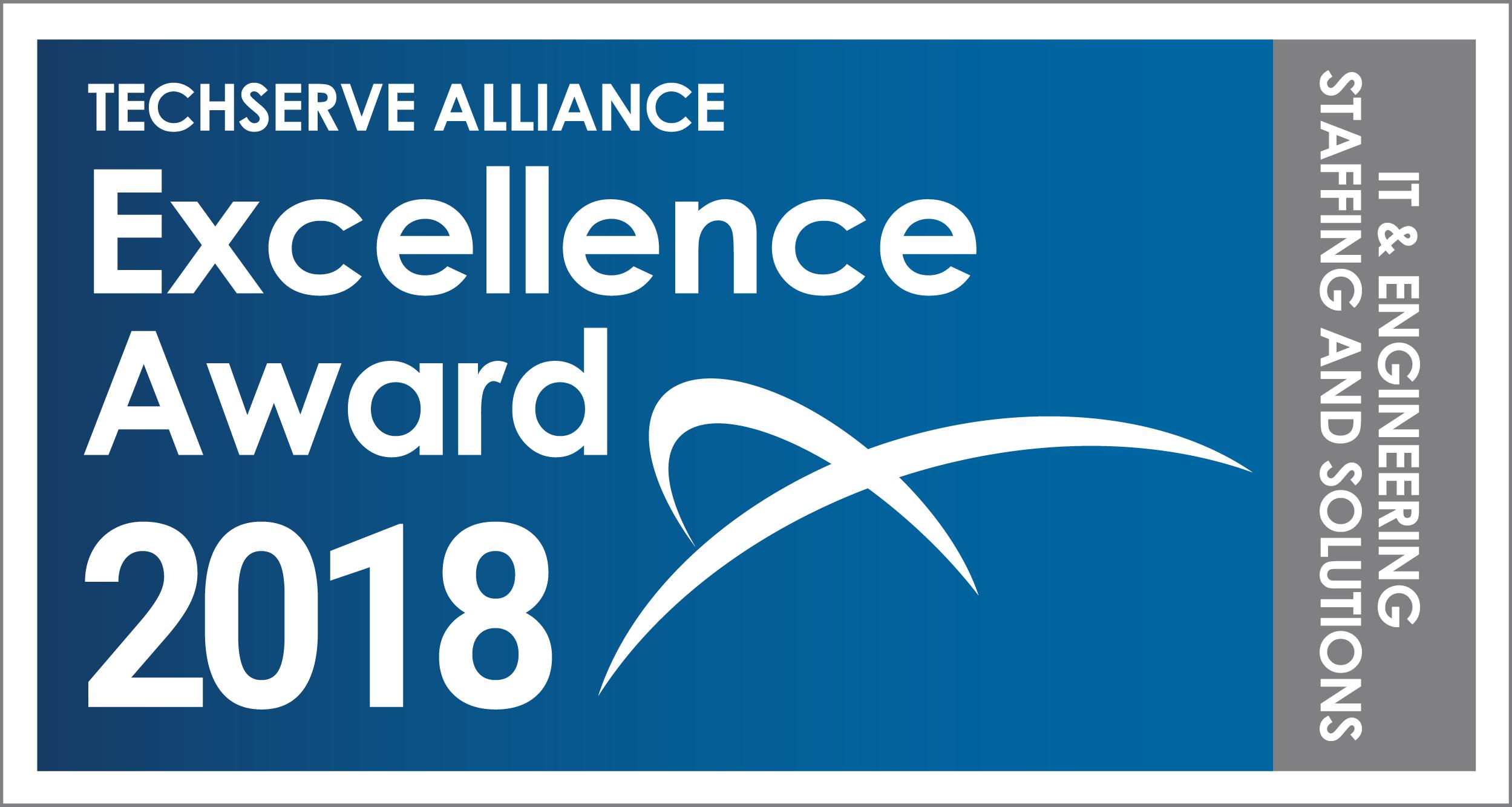 TechServe Alliance Excellence Award 2018