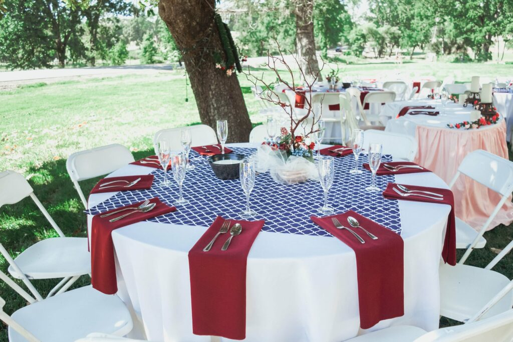 outdoor wedding california gold country day of coordinator