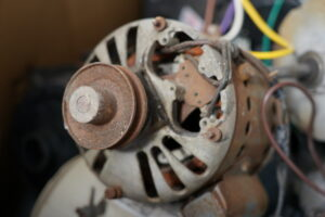Electric motor recycling