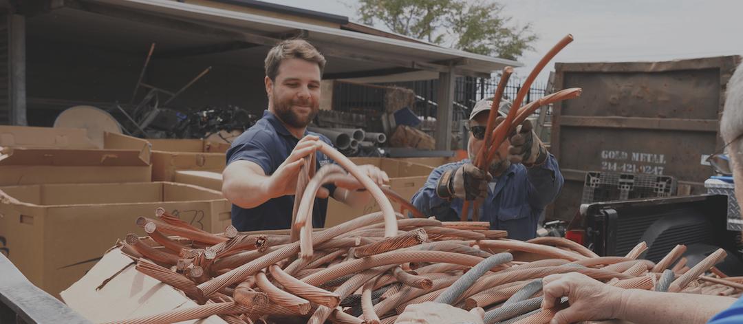Scrap Metal Recycling Richardson TX