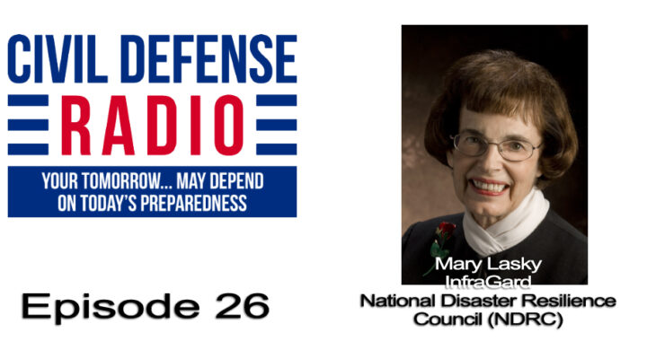 Mary Lasky and InfraGard National Disaster Resilience Council (NDRC)