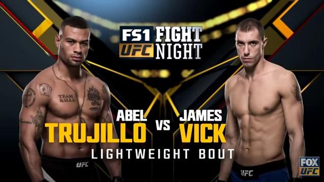 Vick Wins At Home UFC Fight Night 104