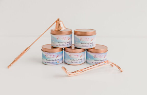 Bewitched Essentials Candles Stacked with Snuffer