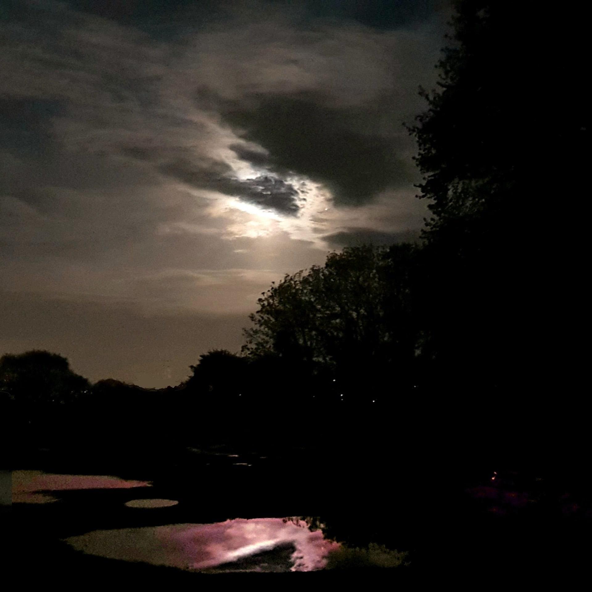 Blood Moon Lunar Eclipse, digital image for Lunascope Newsletter 2018