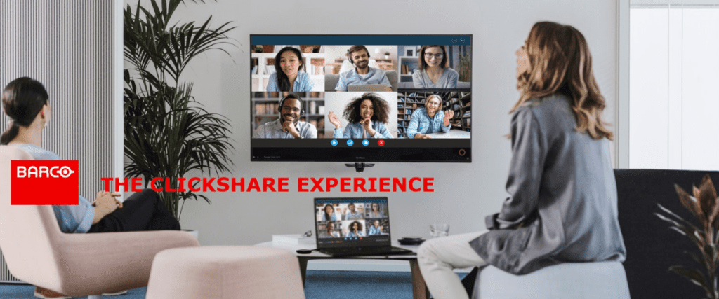 ClickShare Wireless Presentation and Conferencing