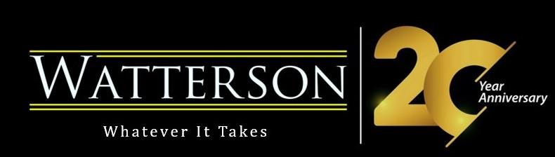 Press Release – Watterson Celebrates 20th Anniversary (2021)
