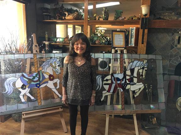Atsuko Kroetch - Stained Glass Artist