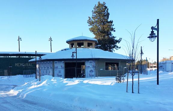 Construction through the winter