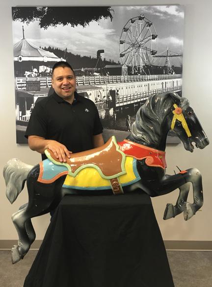 The CdA Tribe adopts a pony: Chief Allan