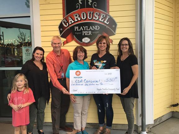 Hayden Tri Club helps the fundraising effort