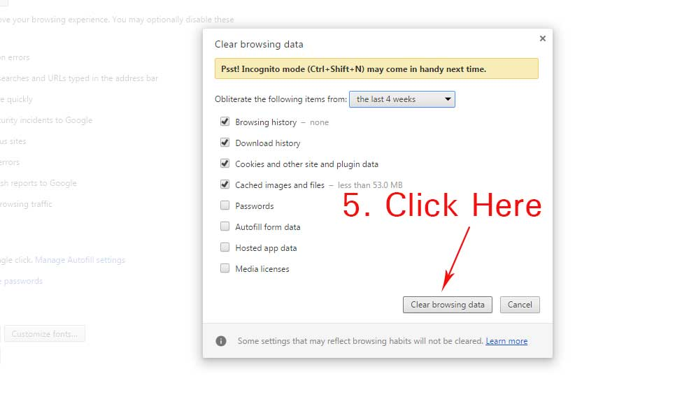 How to Clear or Delete Google Chrome History