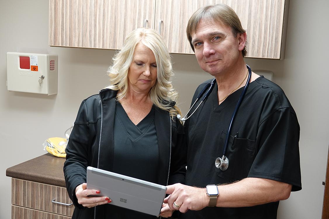 Jeff and Chris - Quality Care Associates Urgent Care and Wellness Center