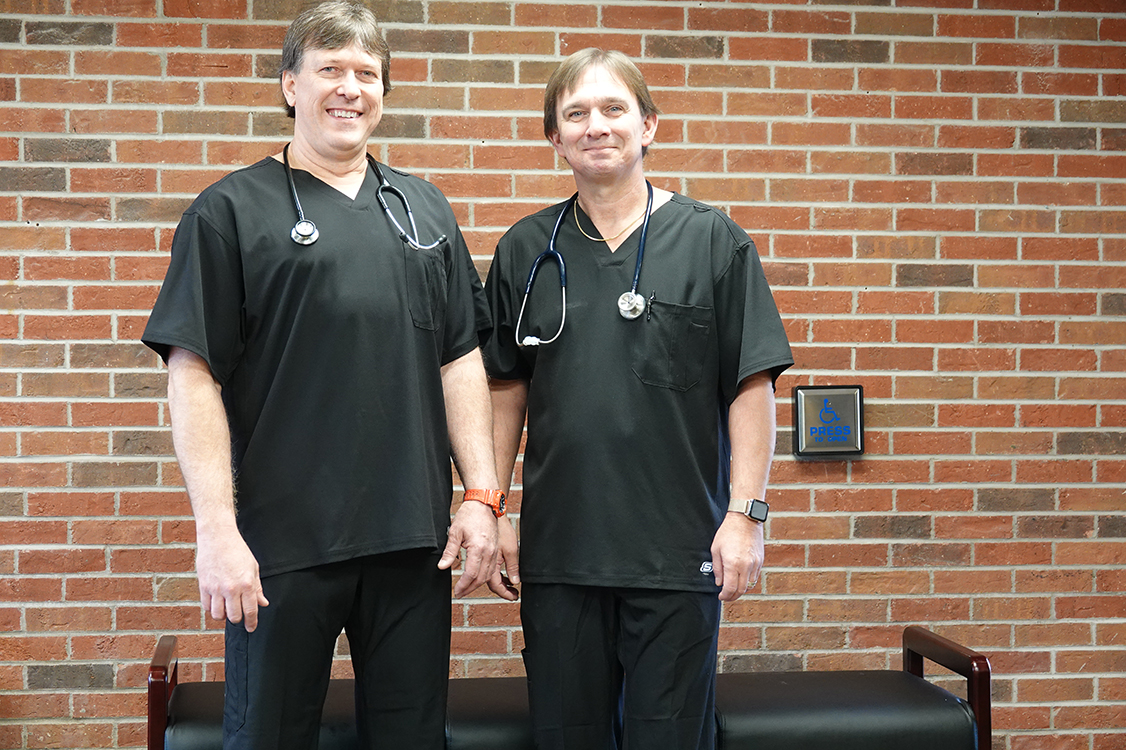 Dr. Jeff Patey and Dr. Richard Clark - Quality Care Associates Urgent Care and Wellness Center