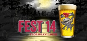 Swamp Head Brewery has created a limited-edition Fest 14 lager.