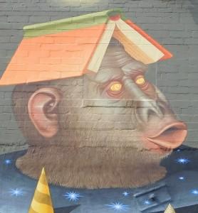 high dive, ukraise, murals, bus, sidewalk 010