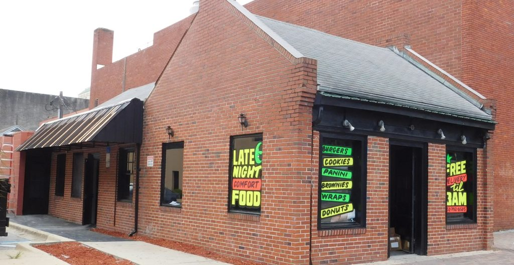 You cant miss the home of Gator Baked at 12 SW 2nd St. Photo by Gainesvil;le downtown)