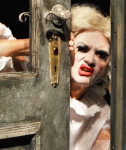 Baby Jane Bryan Mercer) senses trouble with the neighbors Photo by Gainesville Downtown)