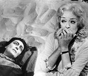Joan Crawford, left, and Bette Davis in What Ever Happened to Baby Jane?