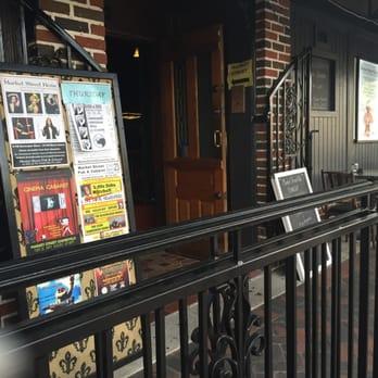The entrance to Market Street Pub.