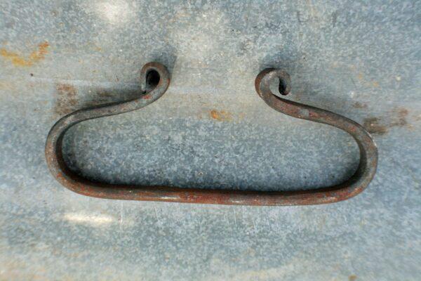 Hand forged steel flint striker