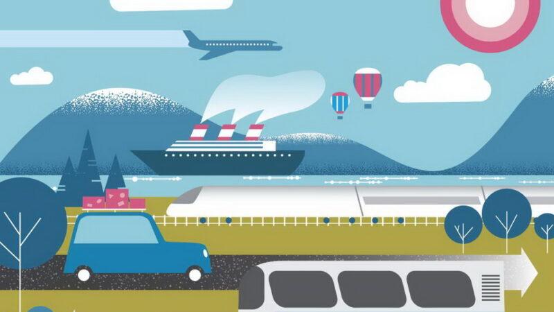 Passagens de Trem ou Ônibus na Europa