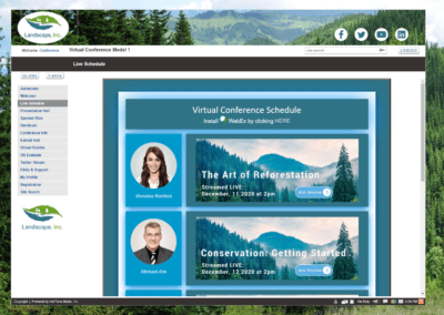 Example Virtual Conference Site
