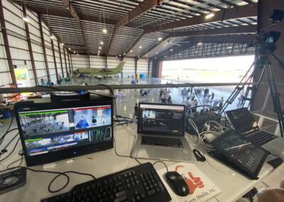 Airport Hangar Live Stream