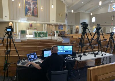 4-Camera Hybrid Live Streaming event