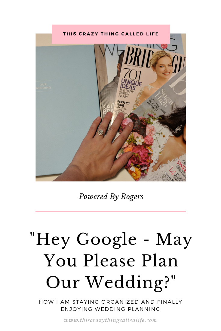 Hey Google – May You Please Plan Our Wedding?
