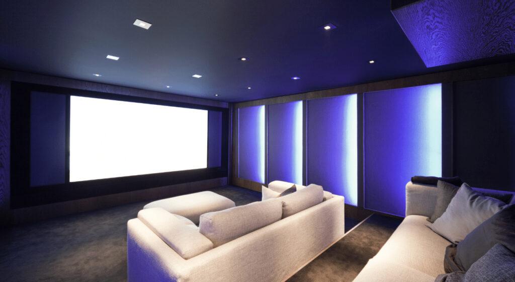 home theater design inspiration - sacramento