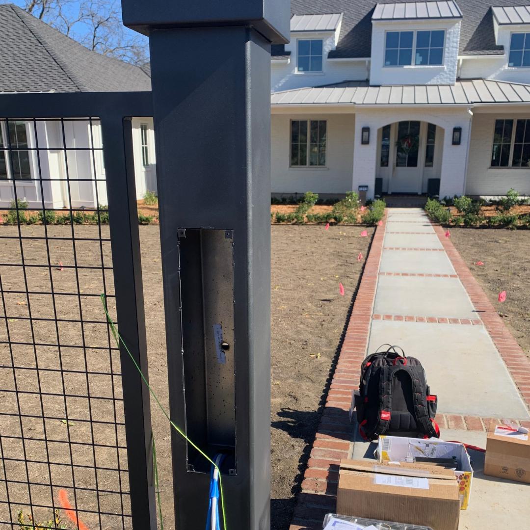custom security system installation sacramento