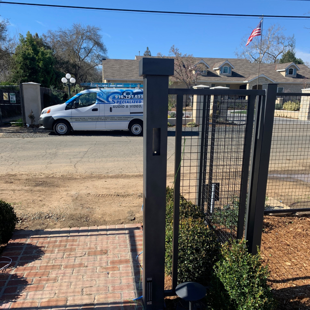 commercial security system installation sacramento