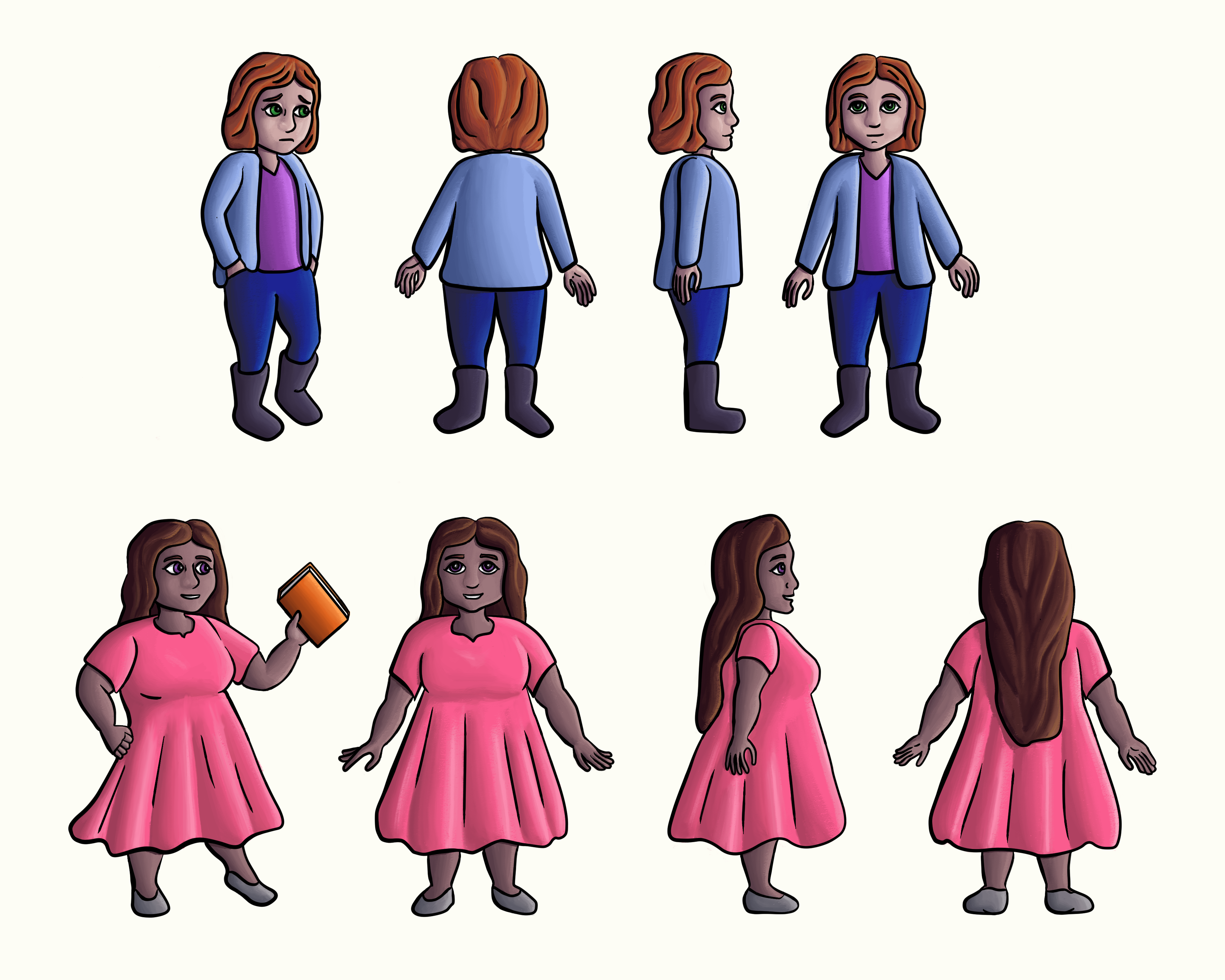 Mom and Ivy character sheets Final