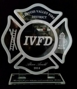 Acrylic Award IVFD