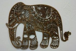 Wood Elephant