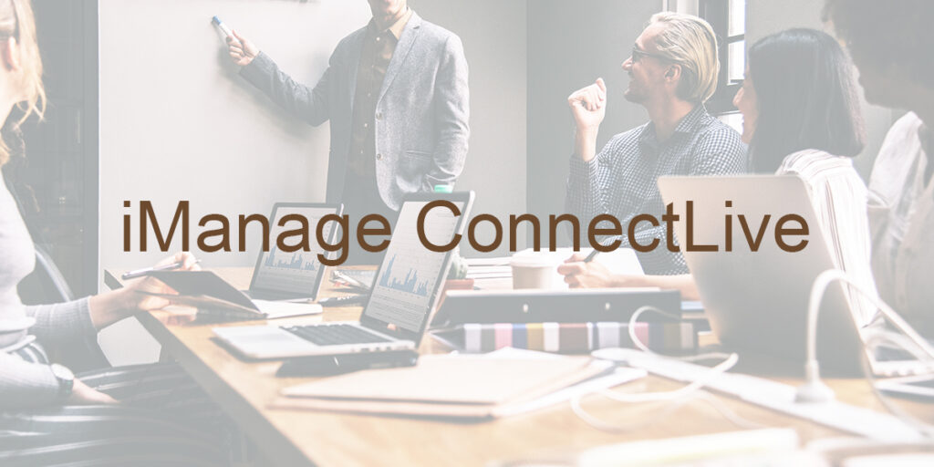 iManage ConnectLive 2019