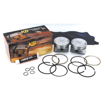 harley davidson motorcycle Sportster Keith Black dish top pistons, piston rings, pins and lock rings