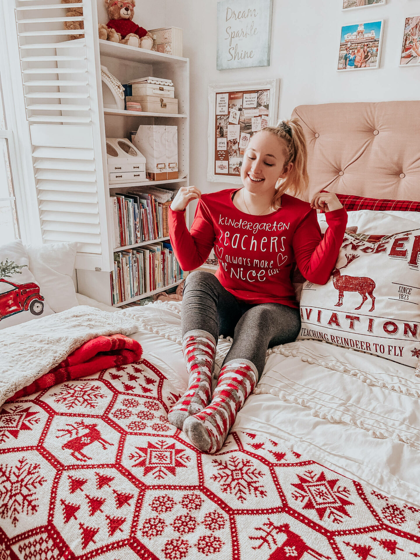 Easy DIY Holiday Shirt with the Cricut Explore Air 2 and Easypress 2