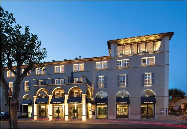 Côte d'Azur: Hôtel de Paris Saint-Tropez