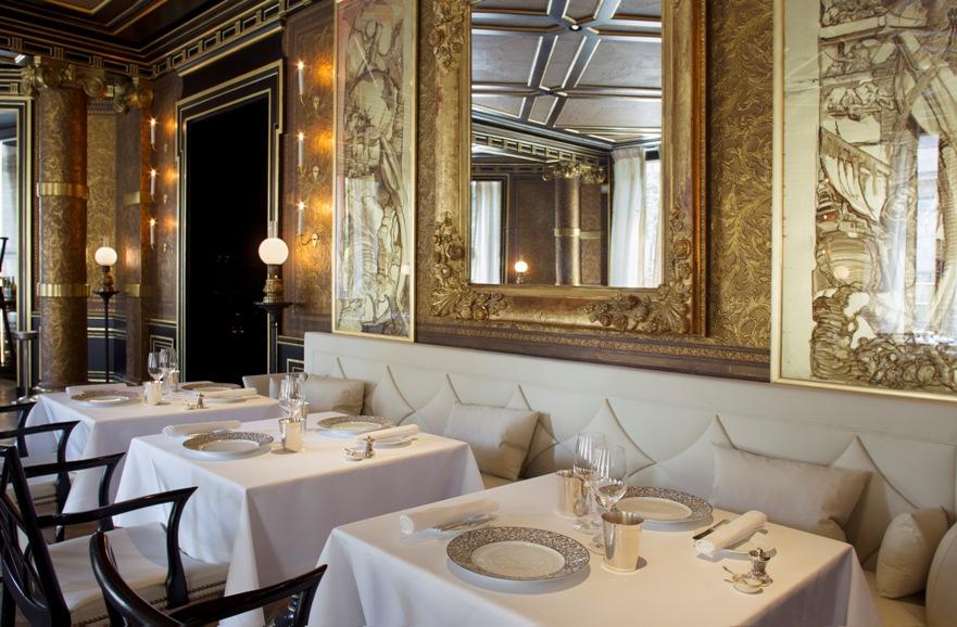 Restaurant Le Gabriel chez La Rèserve Paris Hotel and Spa