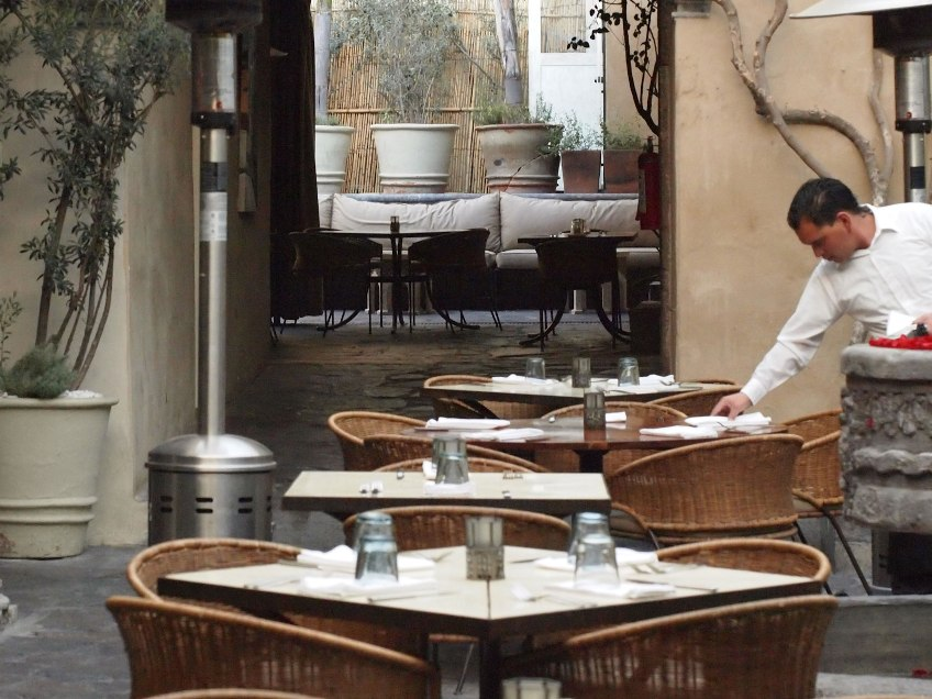 The Restaurant. San Miguel de Allende