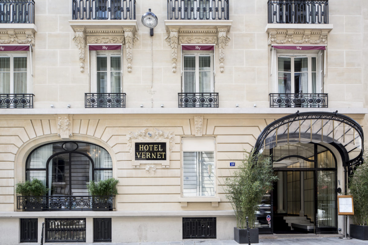Hotel Vernet Paris Champs Elysees
