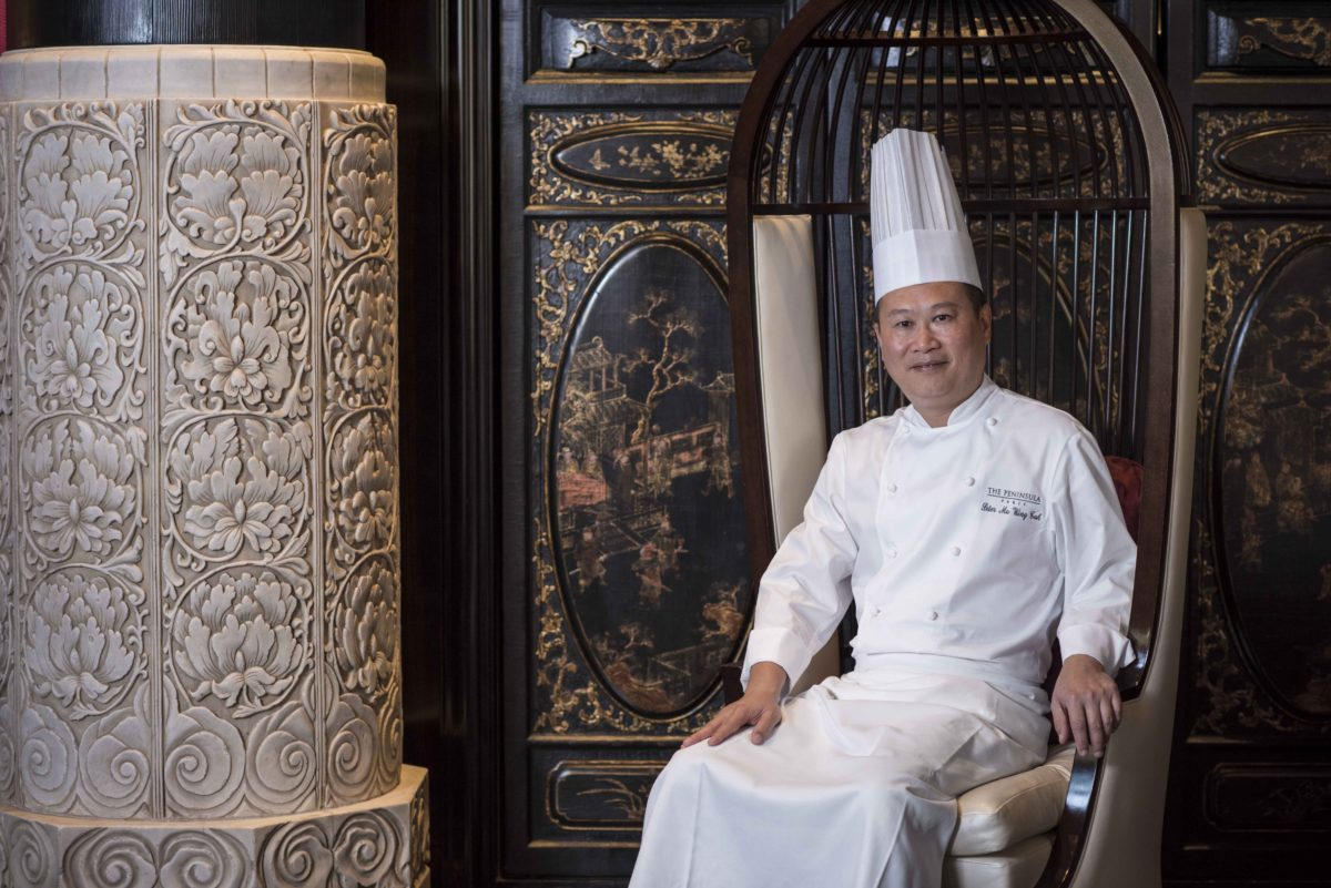 Chef Ma, LiLi Restaurant at The Peninsula Paris