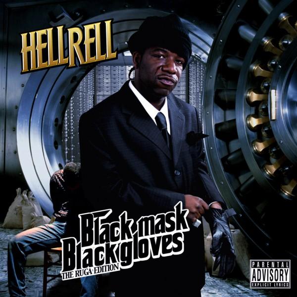 Hell Rell - Black Mask Black Gloves