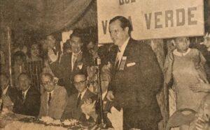Rafael Caldera en 1958. Foto de Pedro Flores