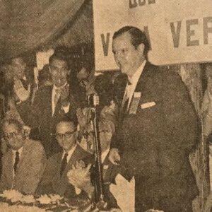 1958. Octubre, 7. Entrevista en La Esfera: El fracaso del candidato único estuvo en la base de la fórmula